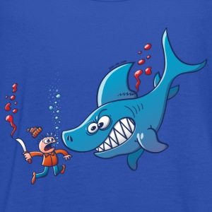 Sharks are Furious, Stop Finning! T-Shirts - Women's Tank Top by Bella