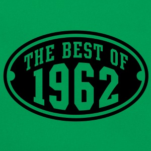 THE BEST OF 1962 - Birthday Geburtstag T-Shirt WK - Retro-tas