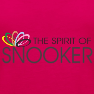 spirit of snooker T-Shirts - Frauen Premium Tank Top