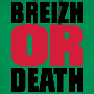 breizh or death Tee shirts - Sweat-shirt à capuche Premium pour hommes