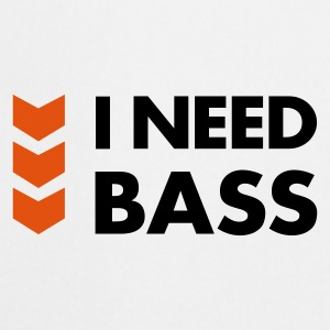 I Need Bass Accessories - Forklæde