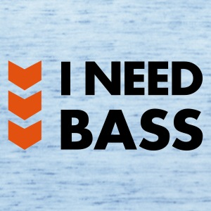 I Need Bass Accessories - Dame tanktop fra Bella