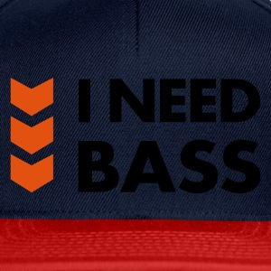 I Need Bass Accessories - Snapback Cap