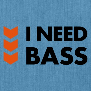 I Need Bass Accessories - Skuldertaske af recycling-material