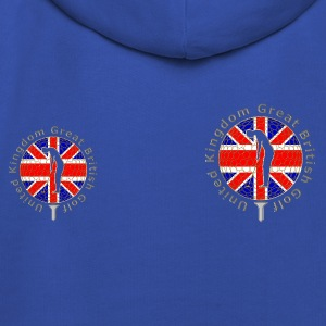 United Kingdom GB golf T-Shirts - Kids' Premium Hoodie