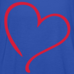 Love Heart T-Shirts - Women's Tank Top by Bella
