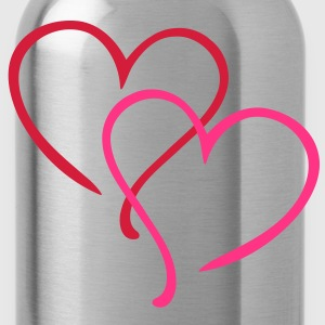 Love Heart T-Shirts - Water Bottle