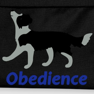 Obedience Border Collie  T-Shirts - Kinder Rucksack