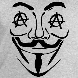 logo anarchy anonymous3 masque mask Tee shirts - Sweat-shirt Homme Stanley & Stella