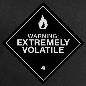 Warning Extremely Volatile - Sweat-shirt Homme Stanley & Stella