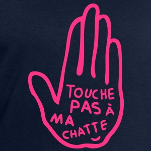 touche pas chatte meuf fille sexe Tee shirts - Sweat-shirt Homme Stanley & Stella