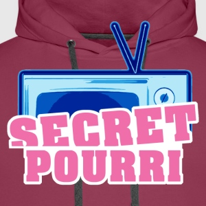 Secret Pourri - Sweat-shirt à capuche Premium pour hommes