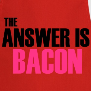 The Answer is Bacon T-Shirts - Cooking Apron
