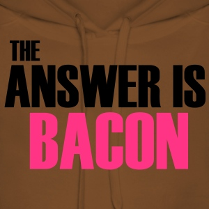 The Answer is Bacon T-Shirts - Women's Premium Hoodie