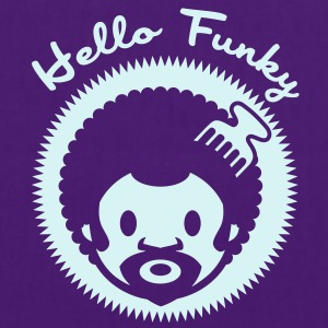 Hello Funky or jaune - Tote Bag