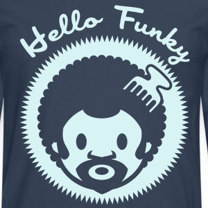 Hello Funky or jaune - T-shirt manches longues Premium Homme