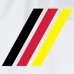 german stripe flag T-shirts - Gymnastikpåse