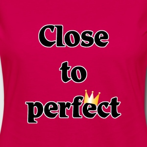 close to perfect T-shirts - Dame premium T-shirt med lange ærmer