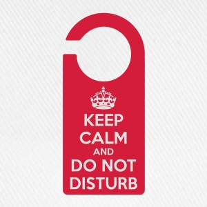 keep calm do not disturb T-shirt - Cappello con visiera