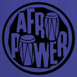 Afro power !!!  - Tablier de cuisine