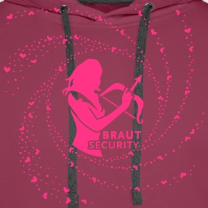 Braut Security 1C T-Shirts - Männer Premium Hoodie