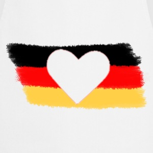 White Germany T-Shirts - Cooking Apron