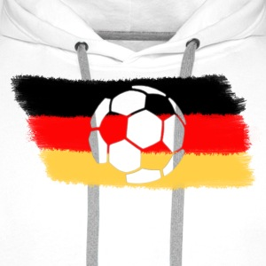 Sand beige Germany T-Shirts - Men's Premium Hoodie