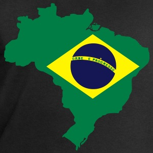 Brazil Map T-Shirts - Men's Sweatshirt by Stanley & Stella
