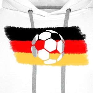 White Germany T-Shirts - Men's Premium Hoodie
