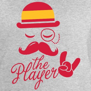 Spain Gentleman championship player football | olympics sporting moustache T-Shirts - Men's Sweatshirt by Stanley & Stella