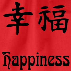 happiness ( Freude ) T-Shirts - Turnbeutel