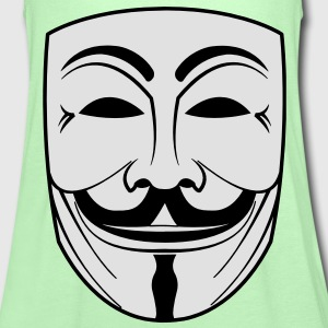 GUY FAWKES Anonymous ACTA Vendetta occupy T-Shirts - Frauen Tank Top von Bella