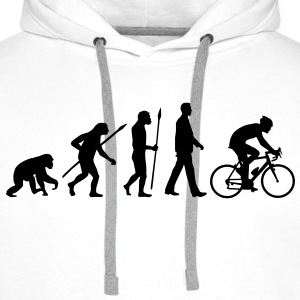 evolution_radfahrer_052012_b_1c T-Shirts - Men's Premium Hoodie