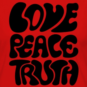 Love Peace Truth * Lifestyle 70s T-Shirts Goa Camisetas - Camiseta de manga larga premium mujer