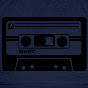 Kassette Cassette Audio Tape 80s T-Shirts - Baseball Cap