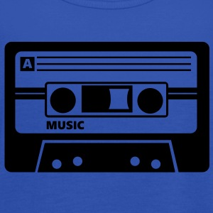 Kassette Cassette Audio Tape 80s T-shirt - Top da donna della marca Bella