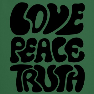 Love Peace Truth * Lifestyle 70s T-Shirts Goa T-skjorter - Kokkeforkle