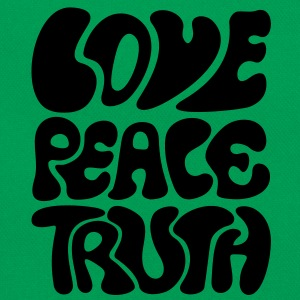 Love Peace Truth * Lifestyle 70s T-Shirts Goa Koszulki - Torba retro