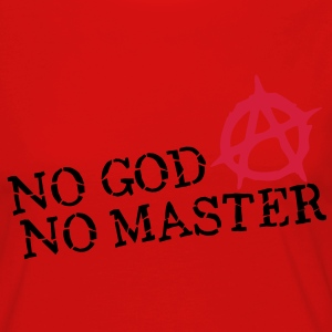 no god no master T-Shirts - Women's Premium Longsleeve Shirt