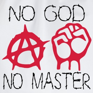 no god no master T-Shirts - Drawstring Bag