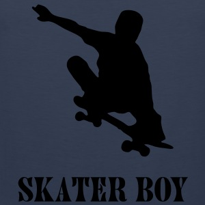 skater boy T-Shirts - Men's Premium Tank Top