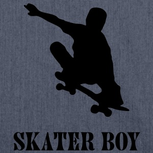 skater boy T-Shirts - Shoulder Bag made from recycled material