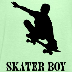 skater boy T-Shirts - Women's Tank Top by Bella