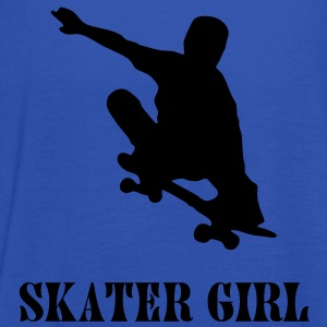 skater girl T-Shirts - Women's Tank Top by Bella