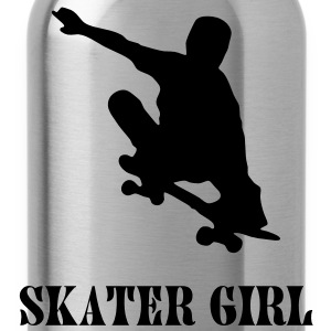 skater girl T-shirts - Drinkfles