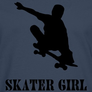 skater girl T-Shirts - Men's Premium Longsleeve Shirt