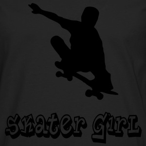 skater girl graffiti style T-Shirts - Men's Premium Longsleeve Shirt