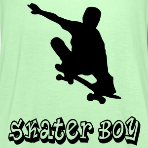 skater boy graffiti style T-Shirts - Women's Tank Top by Bella