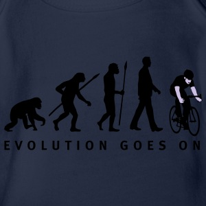 evolution_radfahrer_052012_c_2c Kinder T-Shirts - Baby Bio-Kurzarm-Body