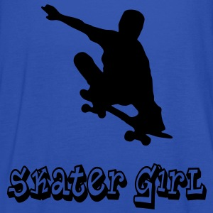 skater girl graffiti style T-Shirts - Women's Tank Top by Bella
